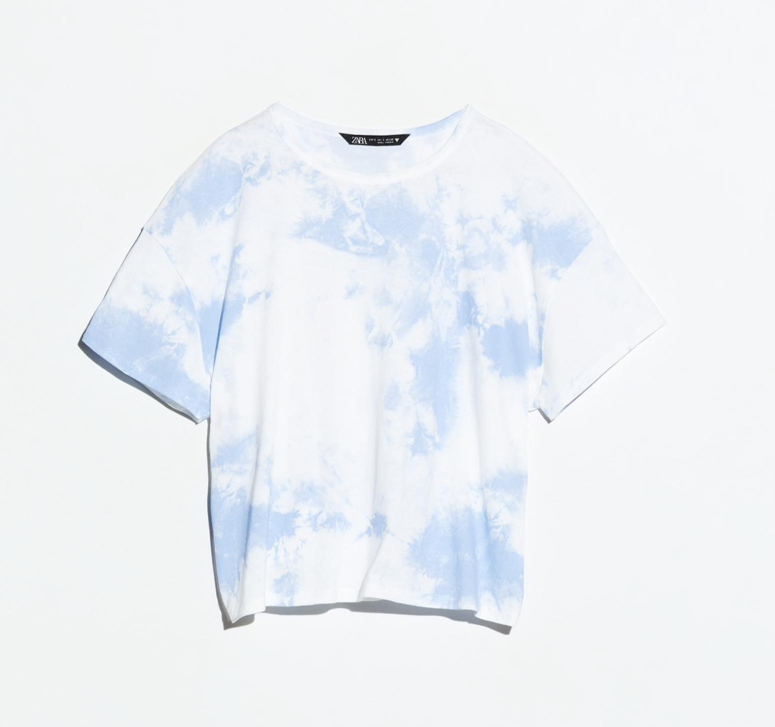 Camiseta Tie Dye de Zara
