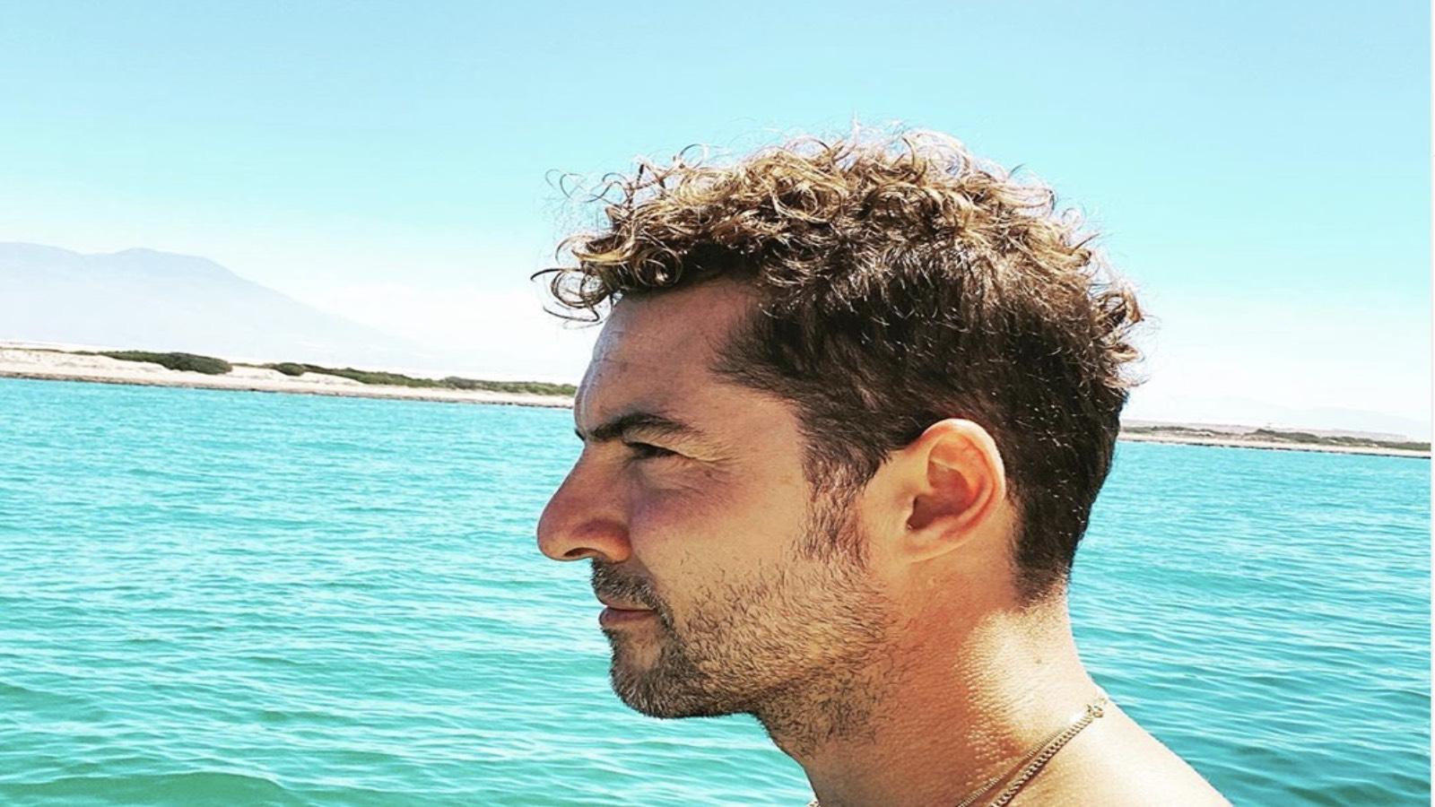 David Bisbal en las playas de Almería