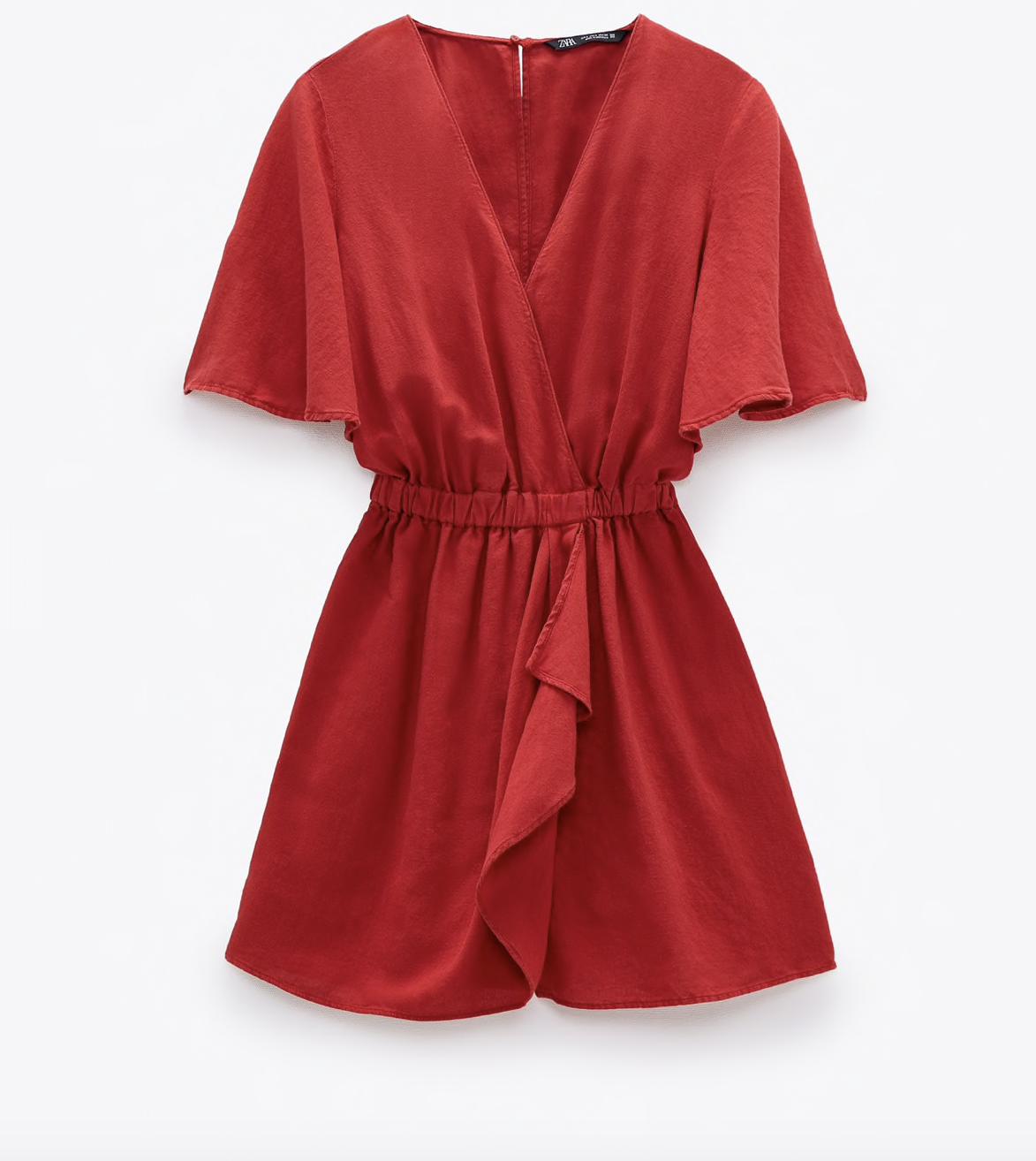 Mono rojo de Zara