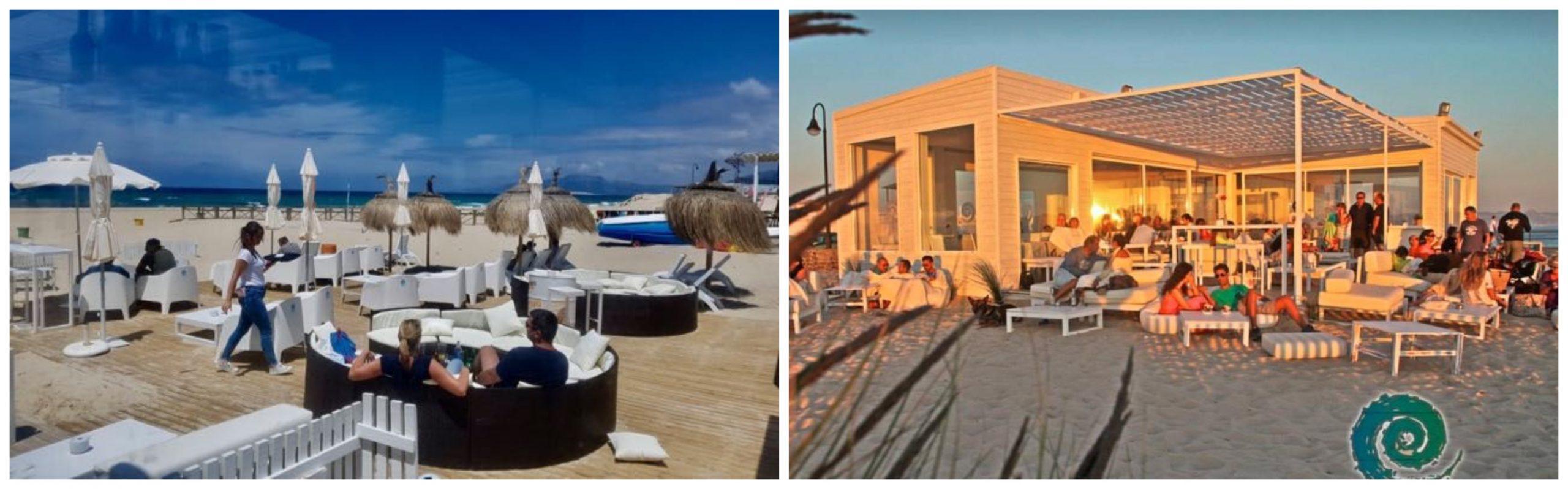 Fotografías del chiringuito Lounge Beach en Tarifa.
