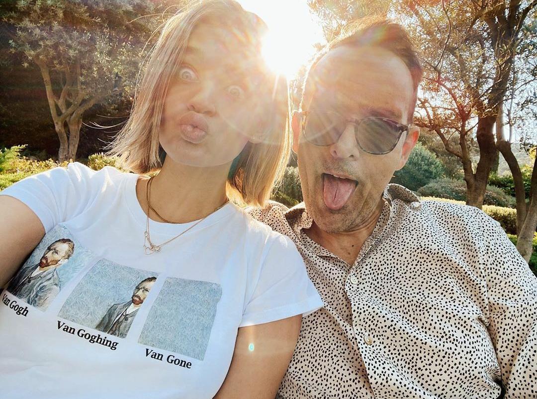 Laura Escanes y Risto Mejide pasan sus vacaciones familiares en Menorca