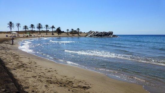 Playa de Percheles. Mazarrón