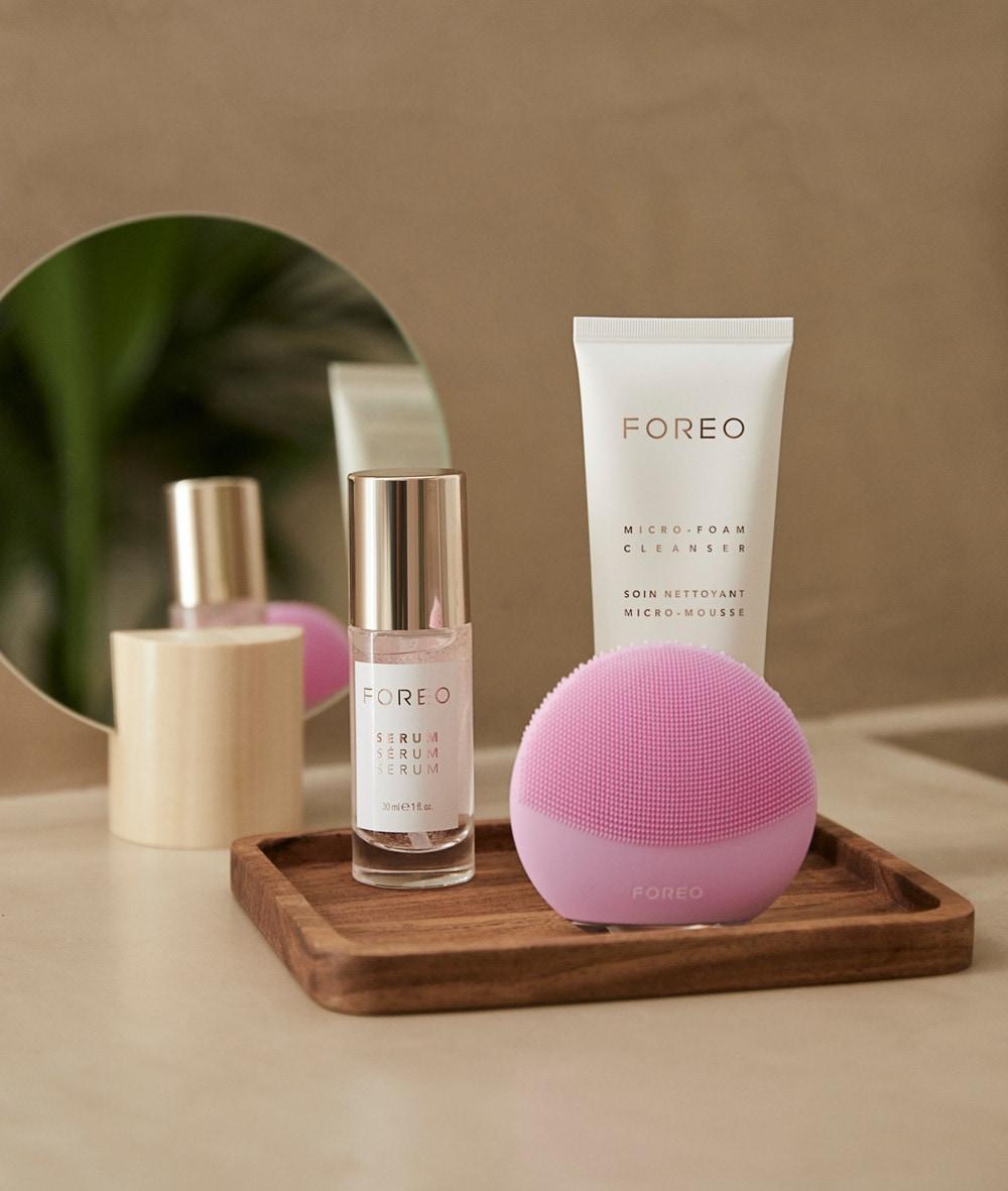 Todos los productos de la nueva colección de Foreo con Oysho.
