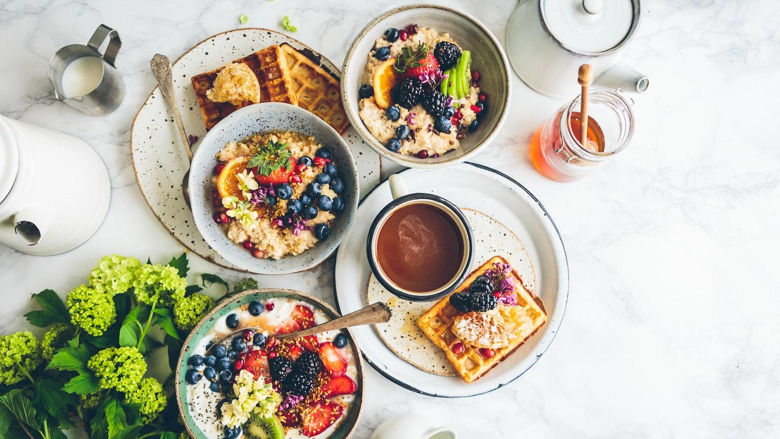 3 desayunos que harán que quieras levantarte de la cama