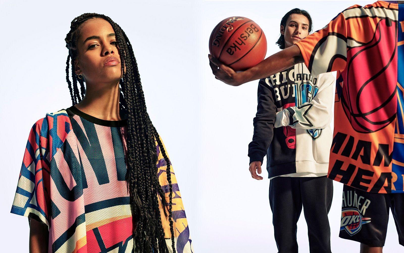 Bershka se alía con la NBA para sacar la nueva colección que va a arrasar