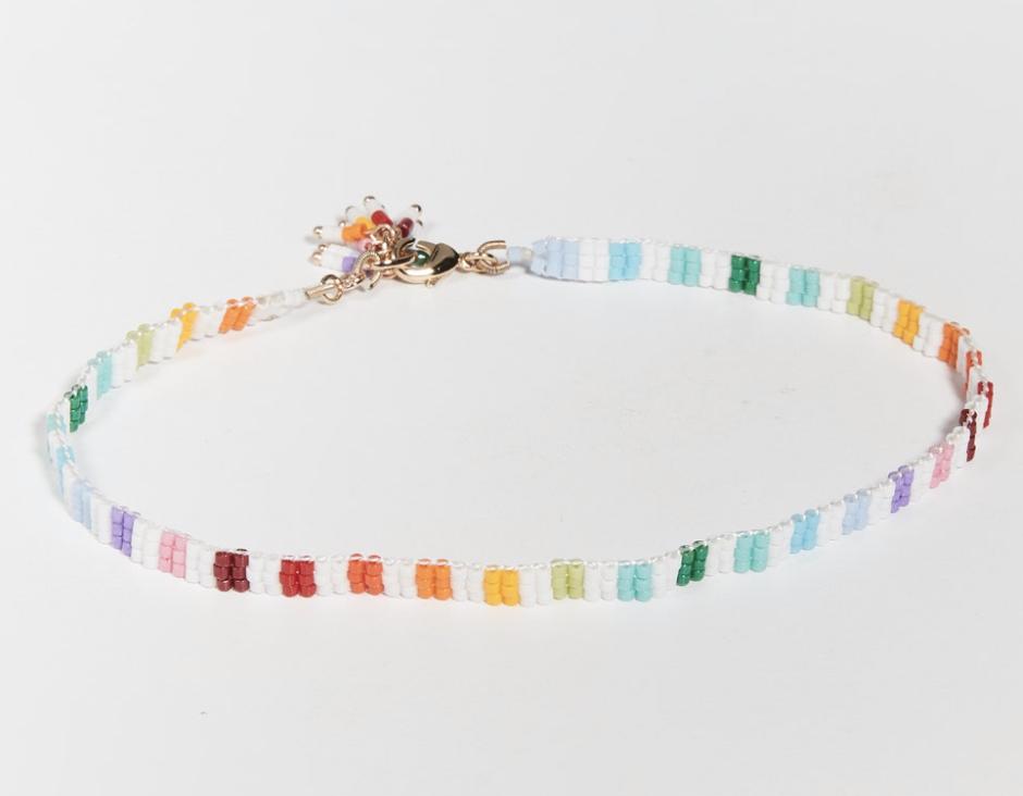 Tobillera de colores de Roxane Assoulin