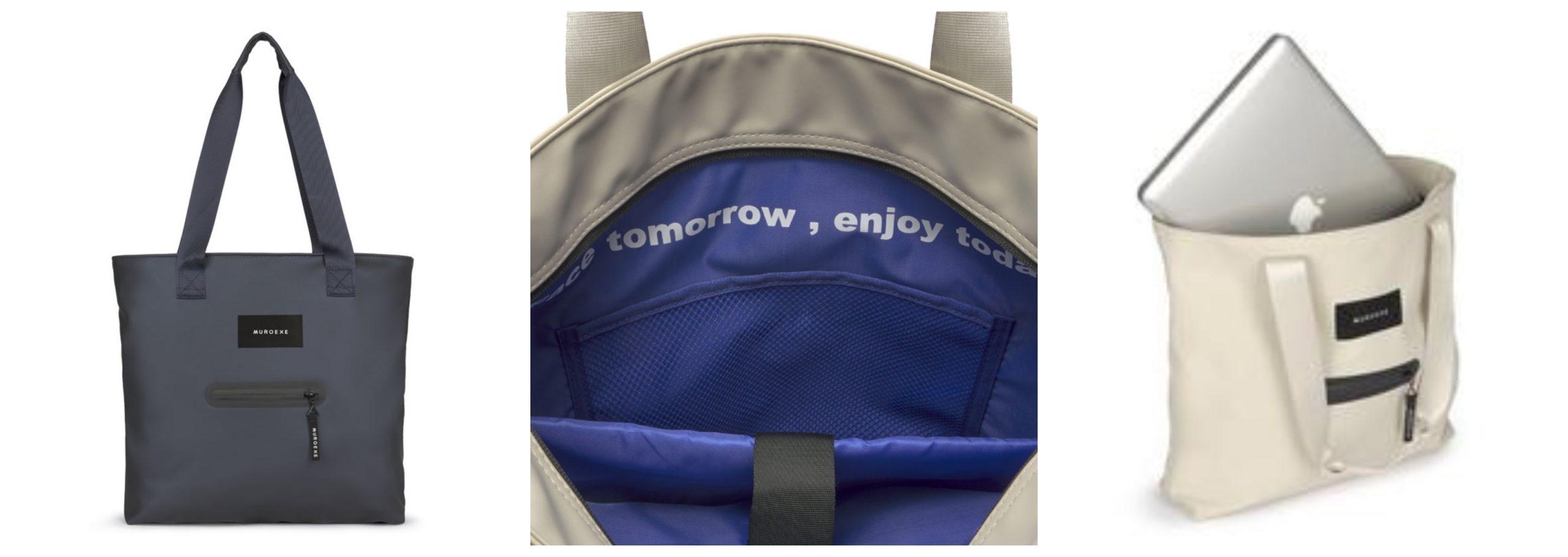 3 fotos del bolso Blue de la marca Muroexe.