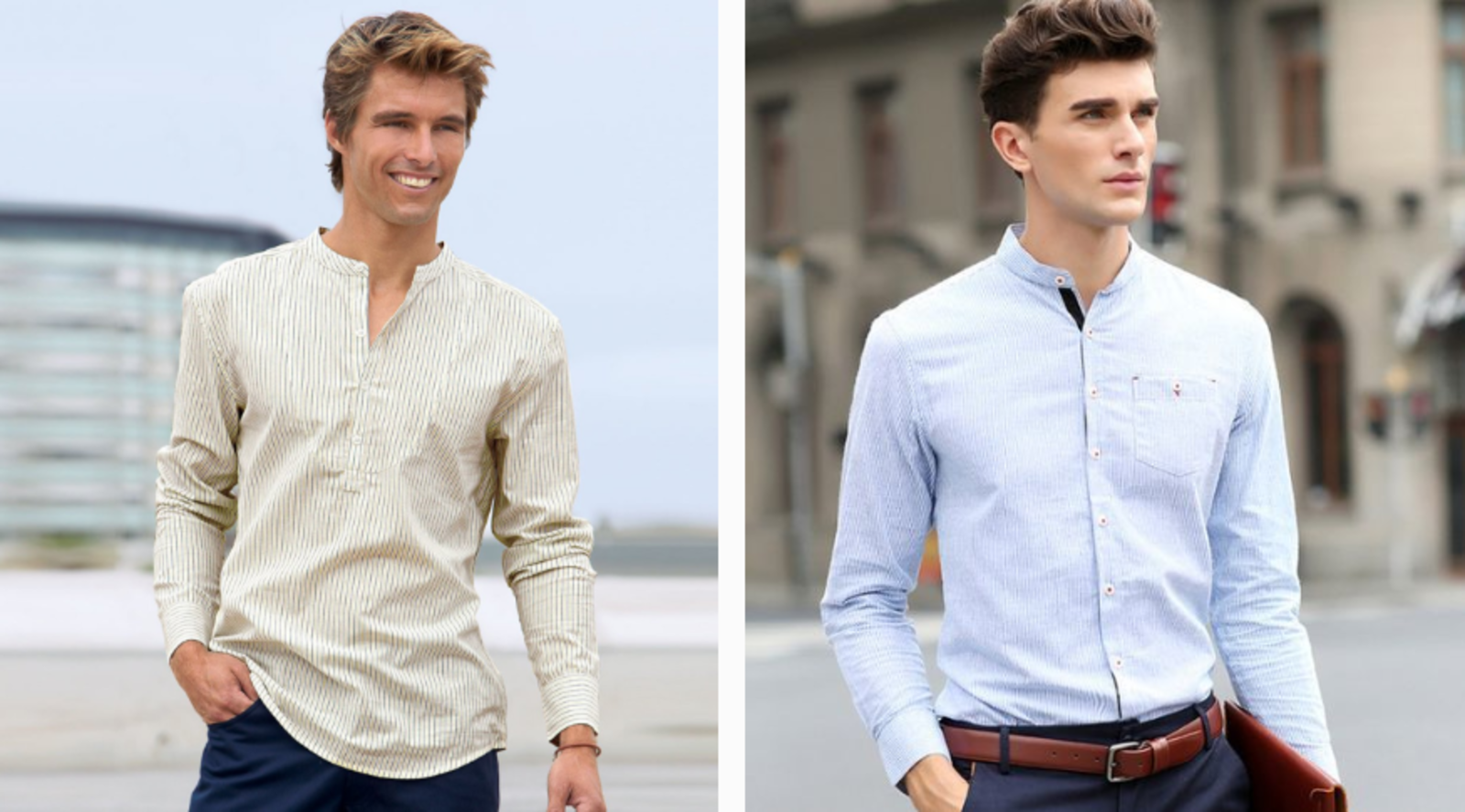 Cómo adaptar tu estilo al verano, poleras y camisas mao