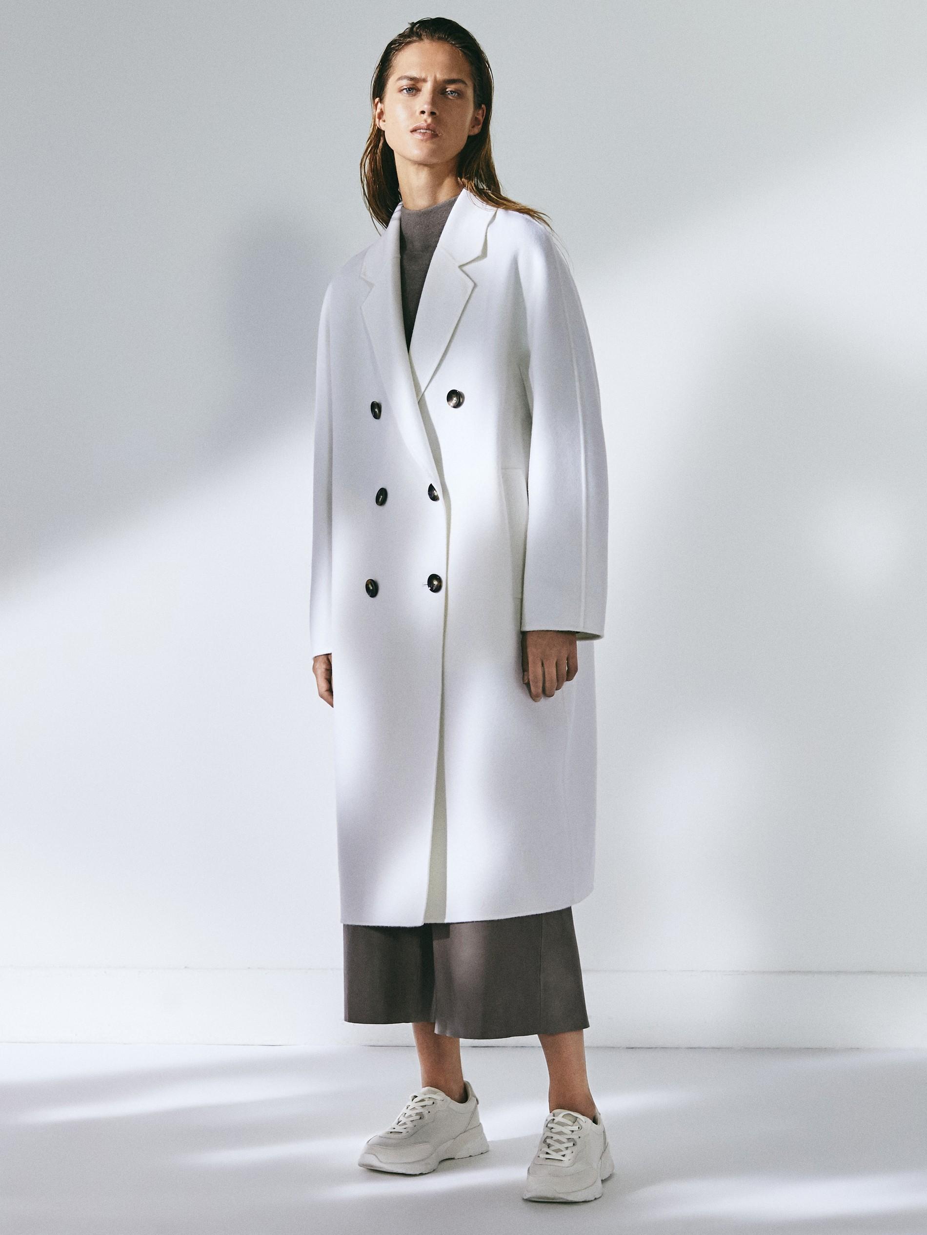 abrigo handmade confeccionado en lana