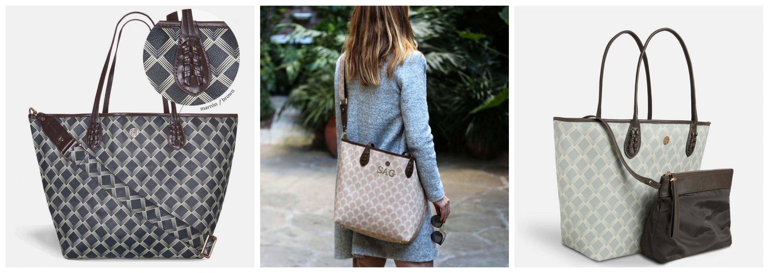 Fotografías de bolsos de la marca Lonbali.