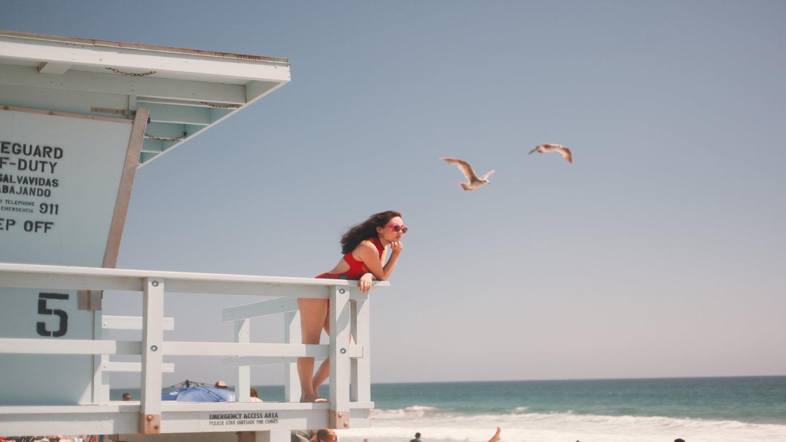 Foto de playa de Pexels