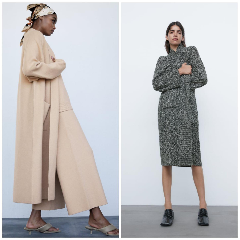 abrigo de punto