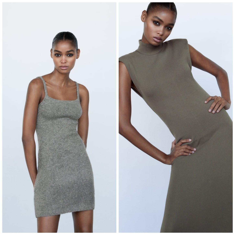 vestidos de punto