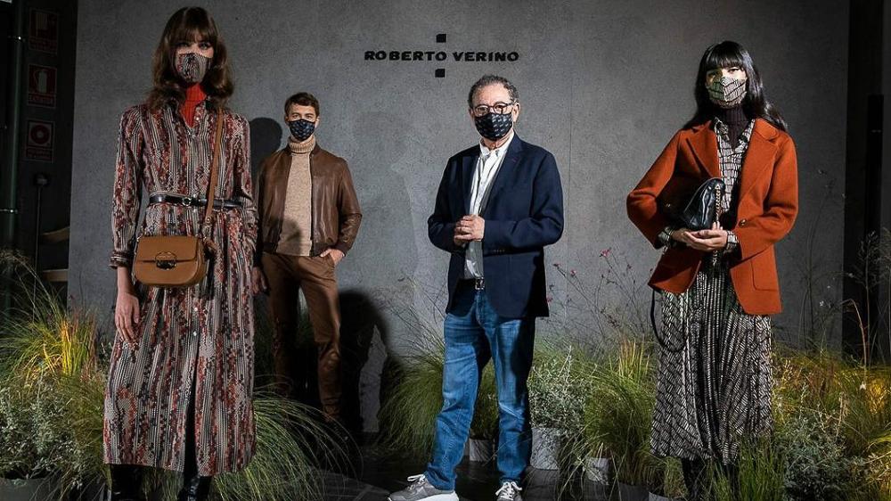Roberto Verino exhibe su colección de Otoño Invierno 2020/2021, inspirada en la arquitectura orgánica de Frank Lloyd Wright.