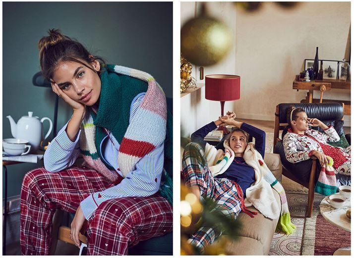 Pijamas super chulos para estar en casa estas Navidades de Women Secret
