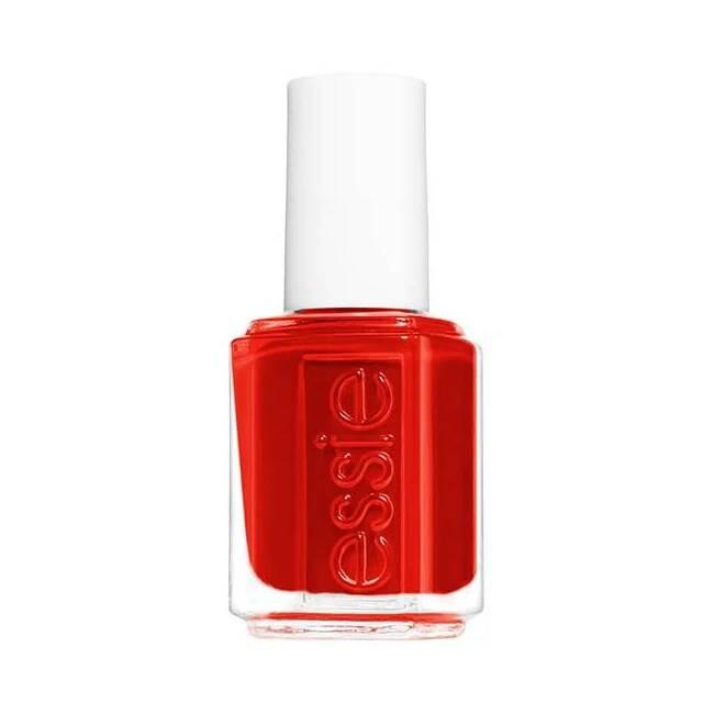 Esmalte rojo Really Red de Essie.