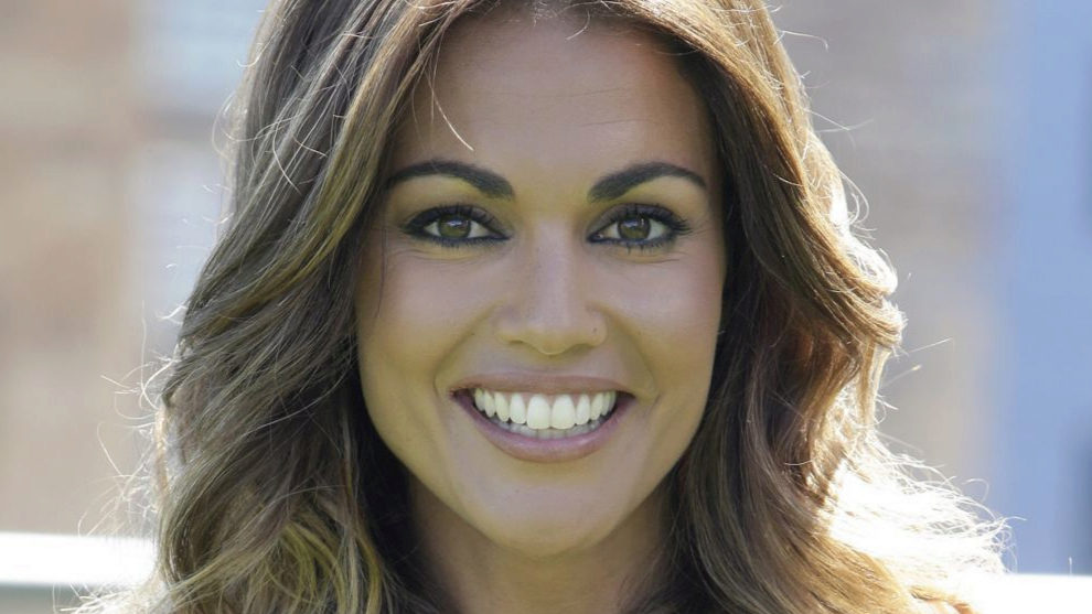 Lara Álvarez se apunta a las mechas 'melting': última tendencia en coloración