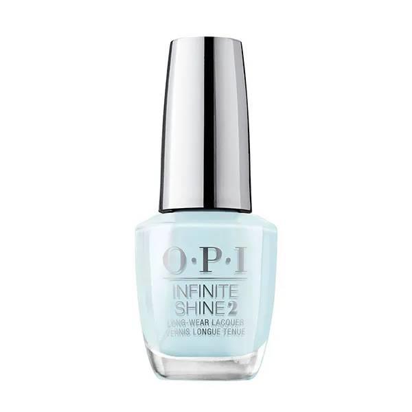Esmalte de uñas color azul bebé de larga duración y acabado efecto gel de OPI