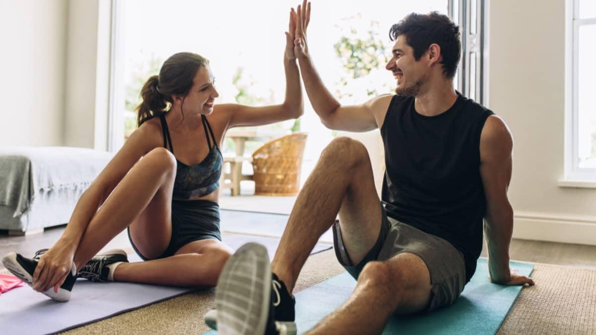 Practicar deporte juntos, una buena forma de celebrar San Valentin