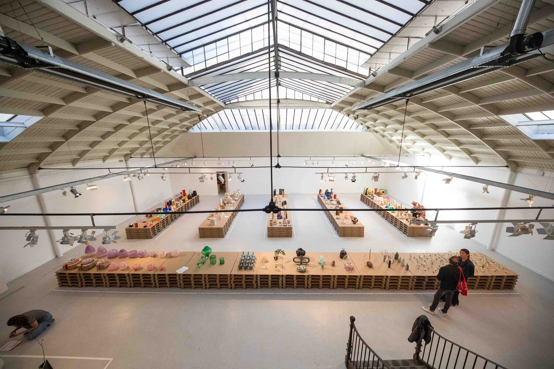 Exposición 1000 Vases en París