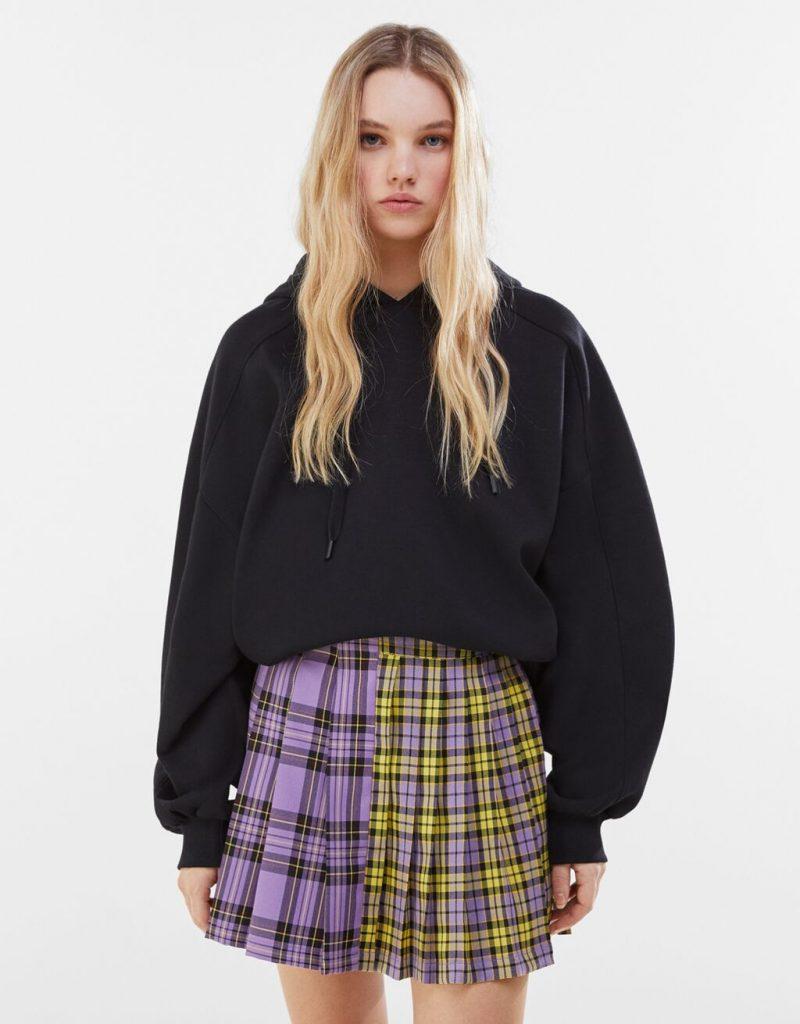 falda cuadros patchwork
