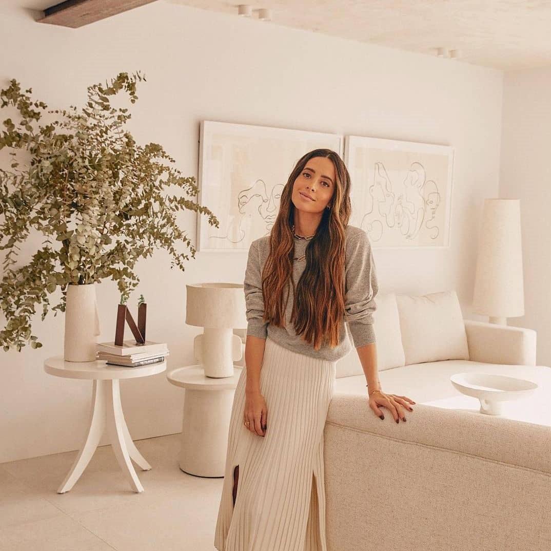 María Fernández-Rubíes nos enseña su nueva casa.