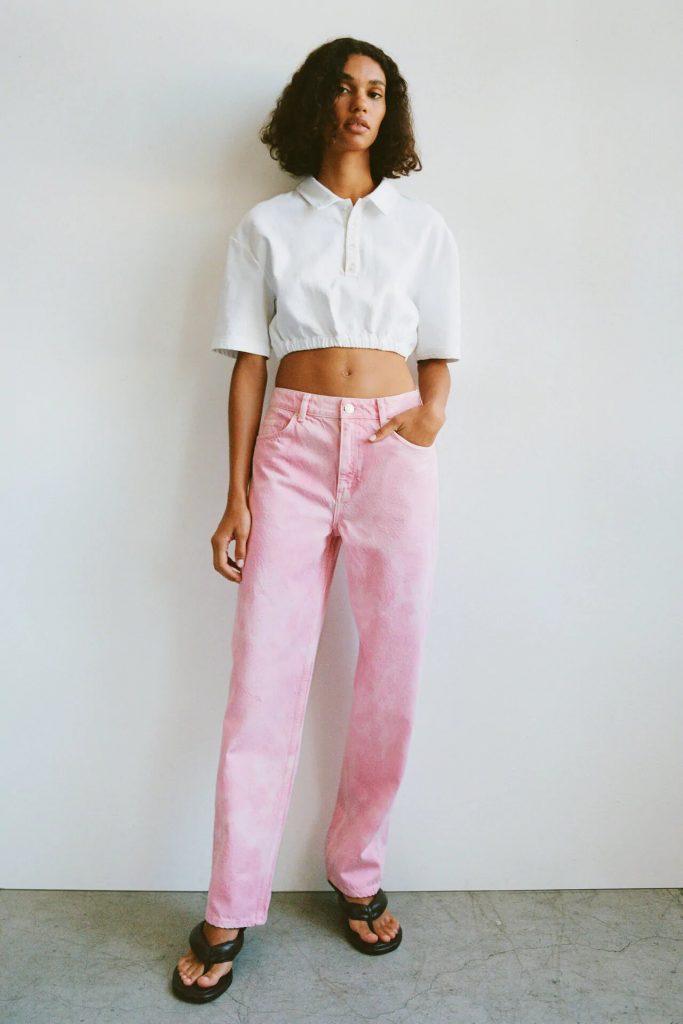 Jeans tie dye.