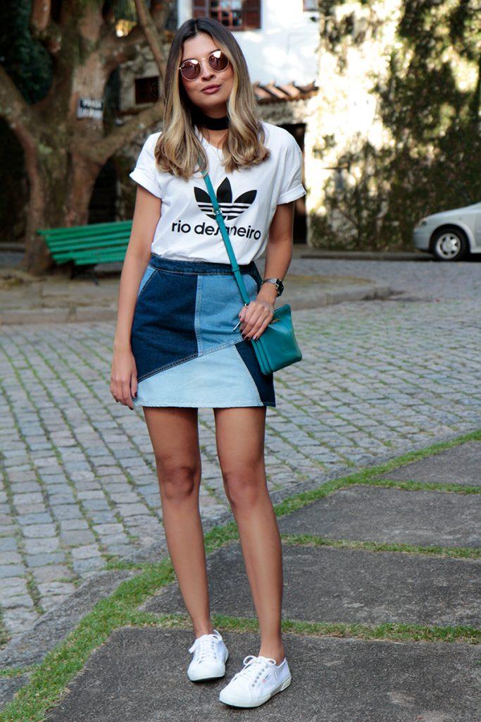 falda patchwork Jessica Janeiro