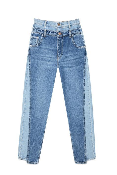Jeans stradivarius doble cinturilla