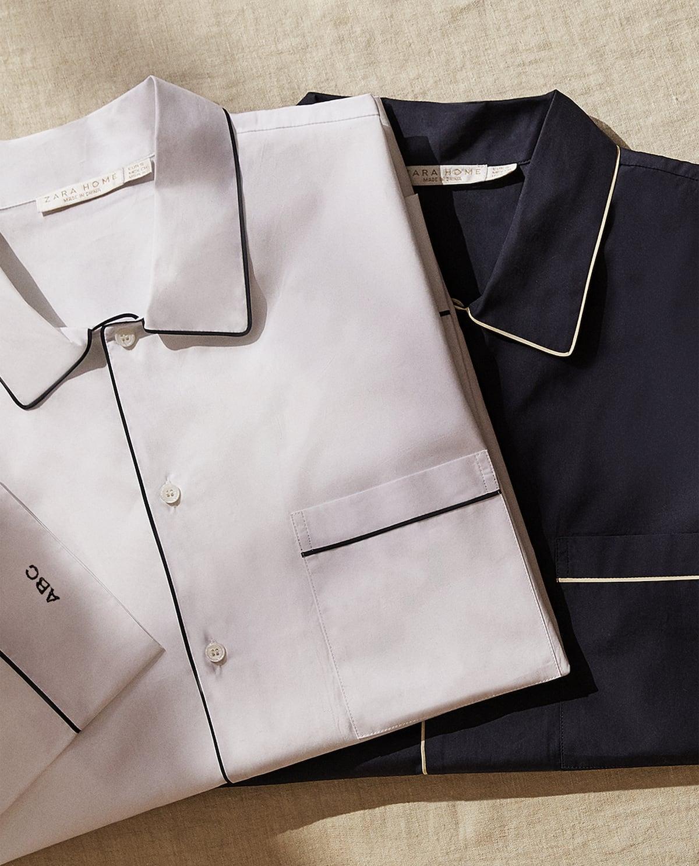 Los pijamas con iniciales de Zara son el regalo perfecto para el Día del Padre (y también para ti).