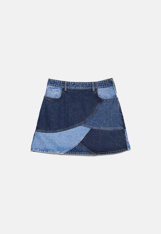 falda patchwork