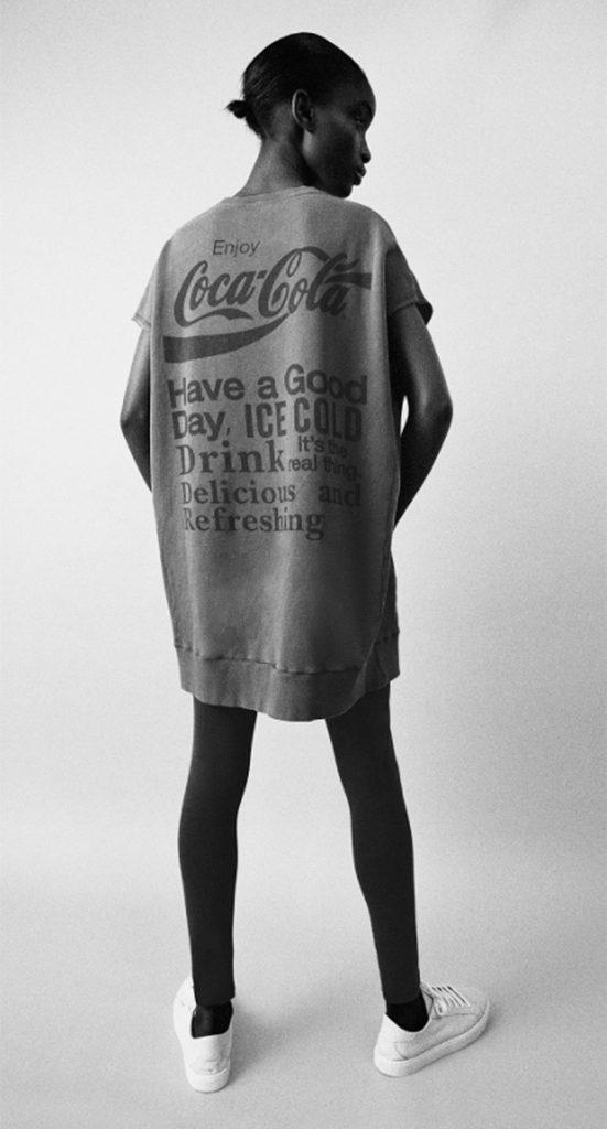 Vestido Coca Cola.