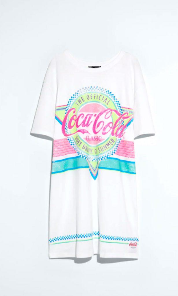 Camiseta Coca Cola.