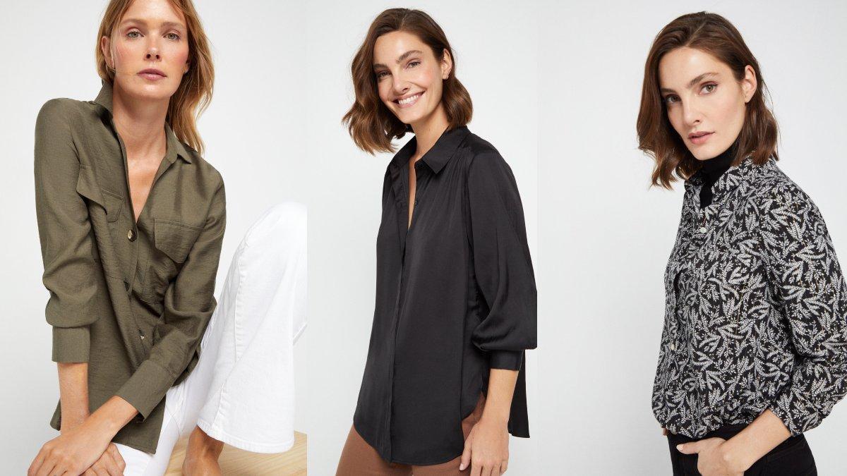 Colección blusas Cortefiel Primavera Verano 2021