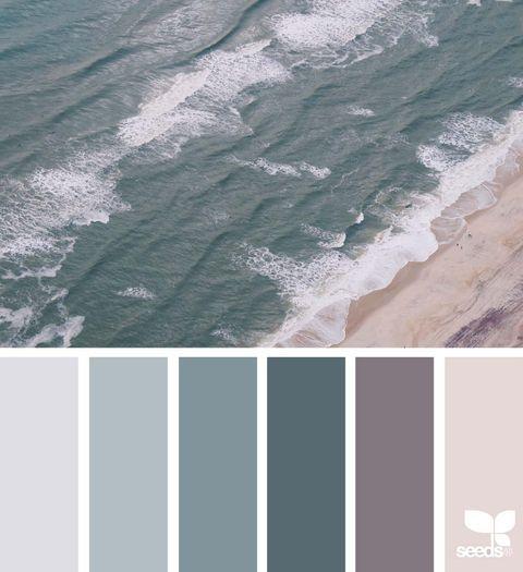 Paleta de colores frios