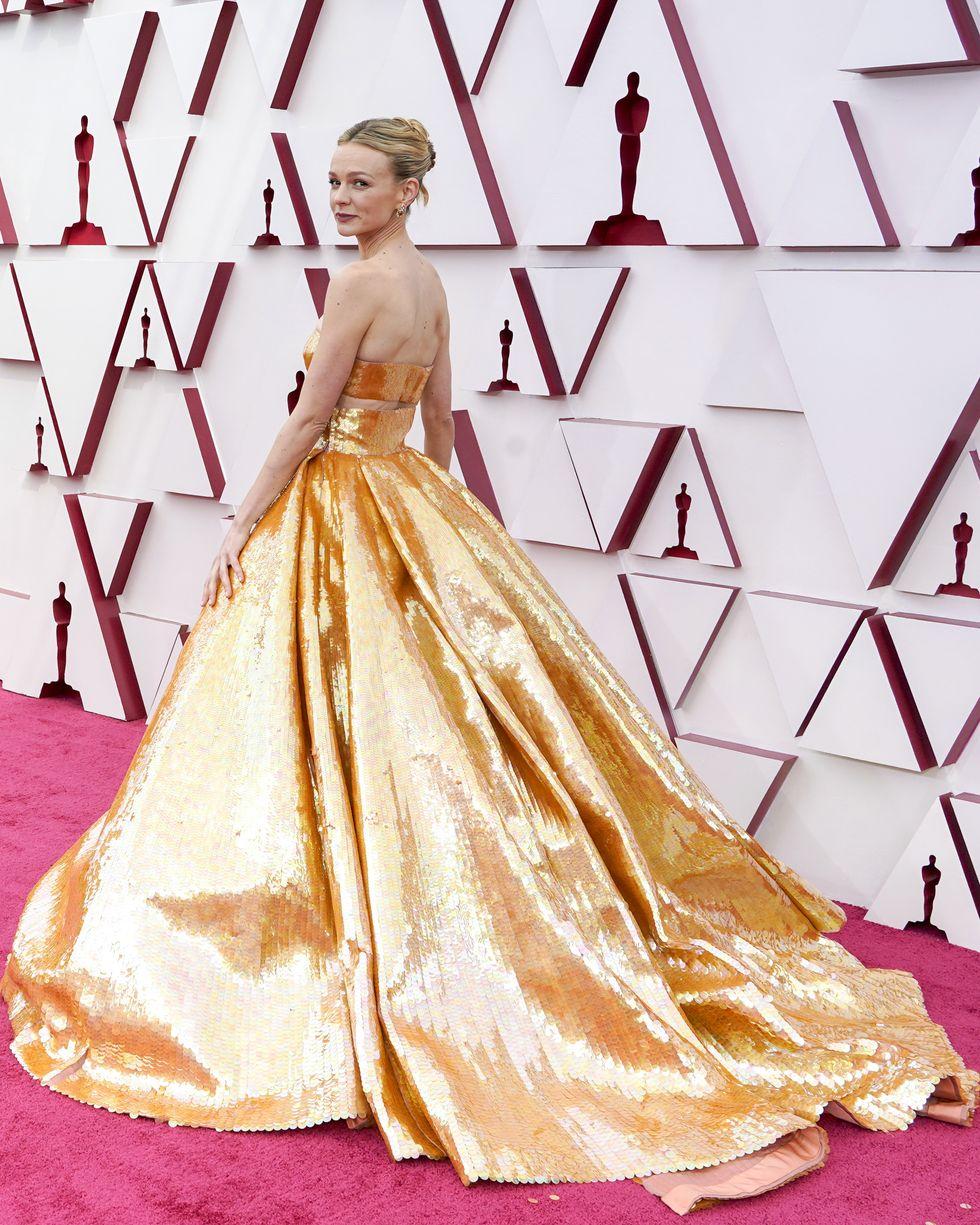 Carey Mulligan alfombra roja Oscar 2021