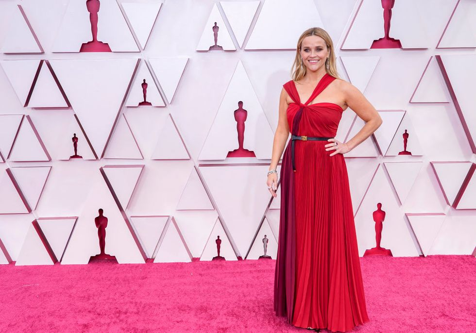 Reese Witherspoon alfombra roja Oscar 2021