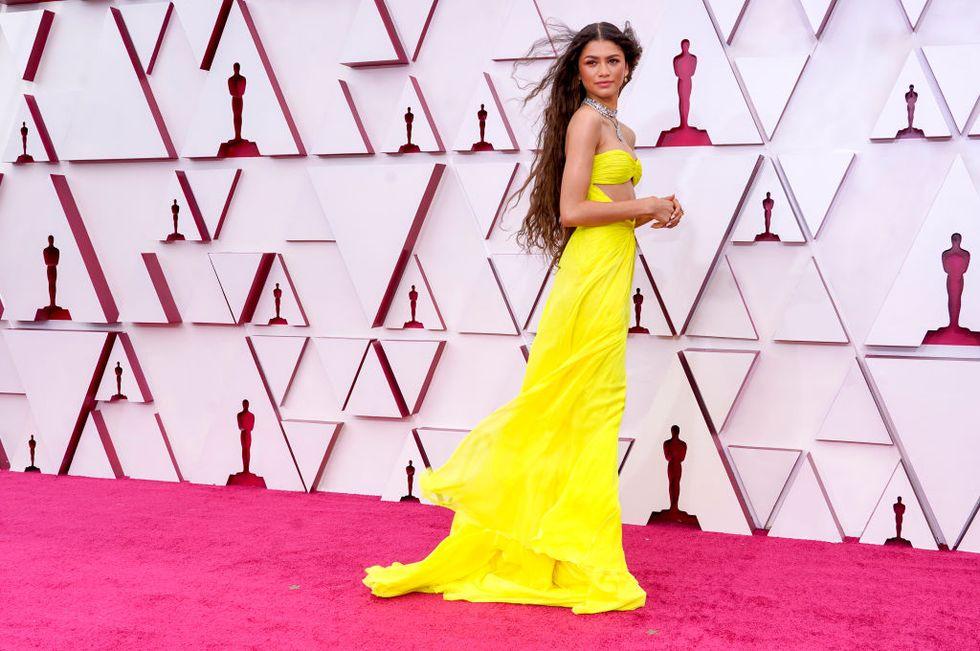 Zendaya alfombra roja Oscar 2021
