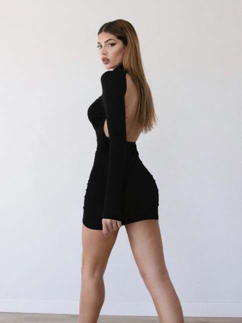 Black Huraa Dress