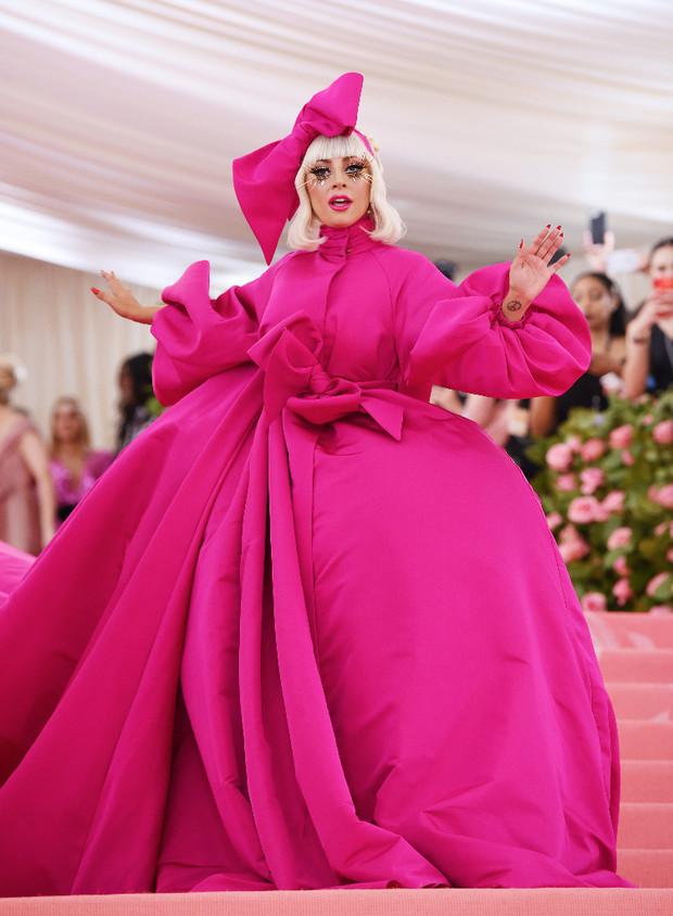 Lady Gaga en la Met Gala de 2019