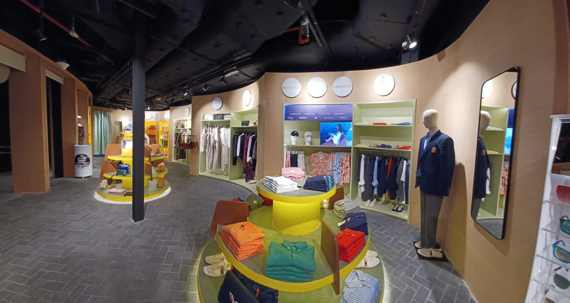 Las marcas de Tendam presentes en la tienda del Pabellón de España en Expo Dubái 2020
